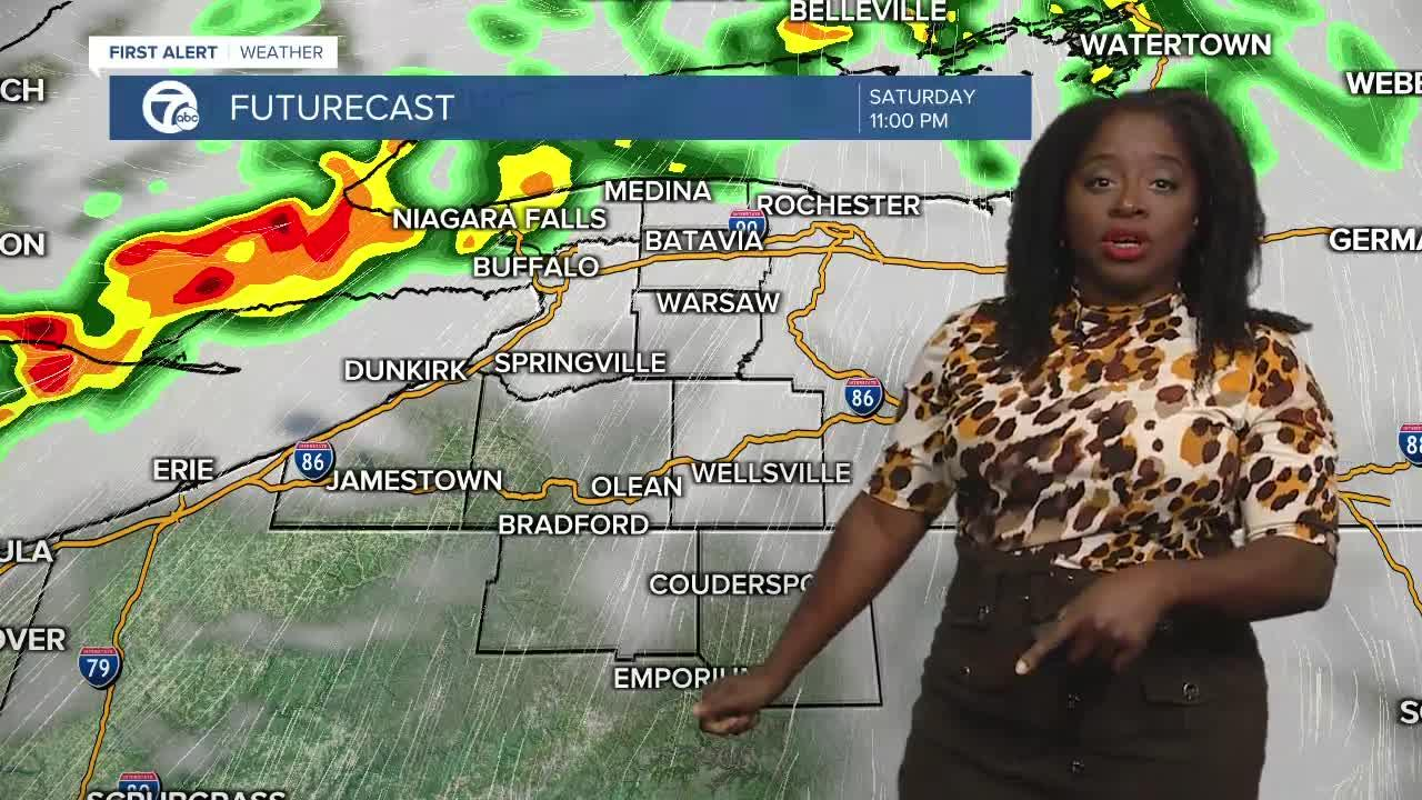 7 First Alert Forecast 6p.m. Update, Saturday, July 24