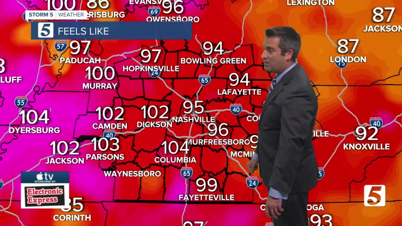 Henry's evening forecast: Saturday, July 24, 2021