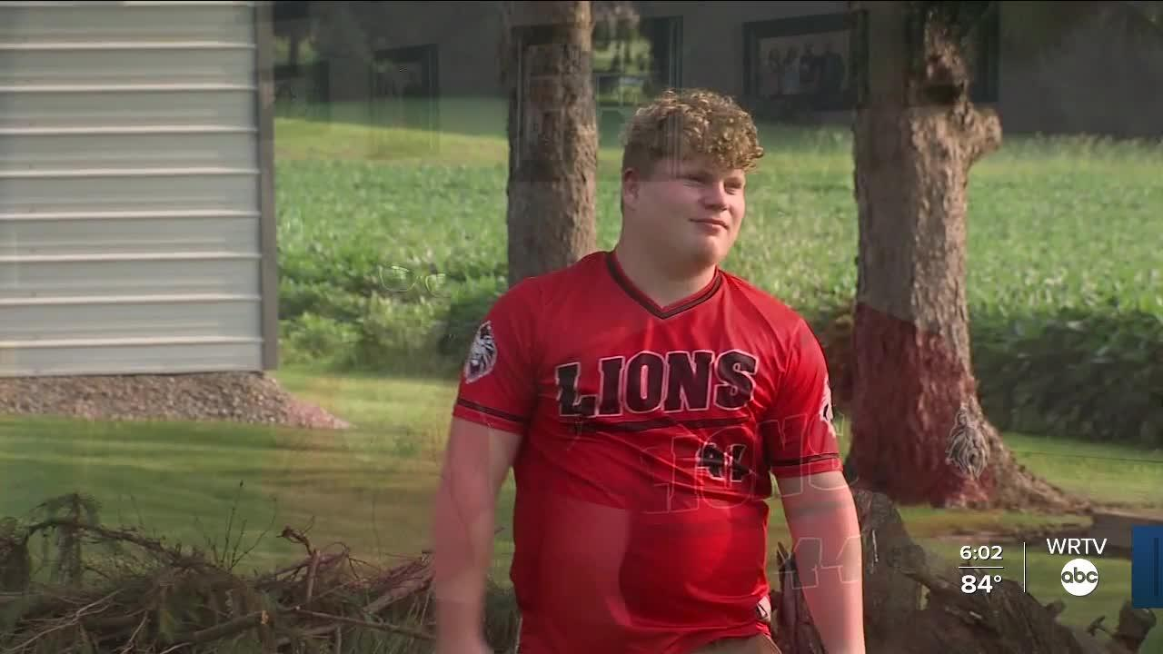 Rushville Teen to Throw Out First Pitch