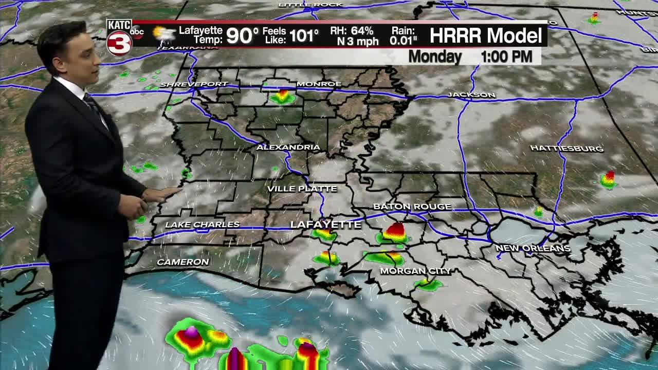Bradley's 6pm Forecast Pt. 1 7-24-21