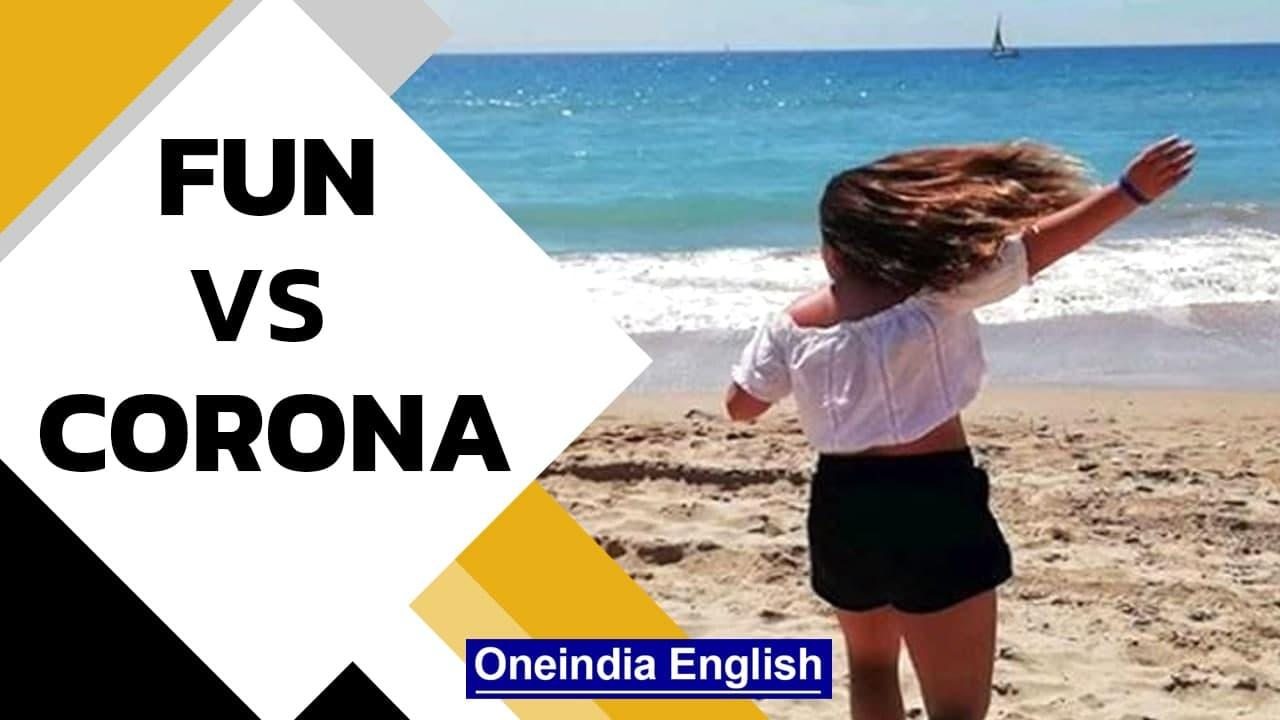 Spain faces 5th Covid wave   Young Spaniards want to party amid corona pandemic   Oneindia News