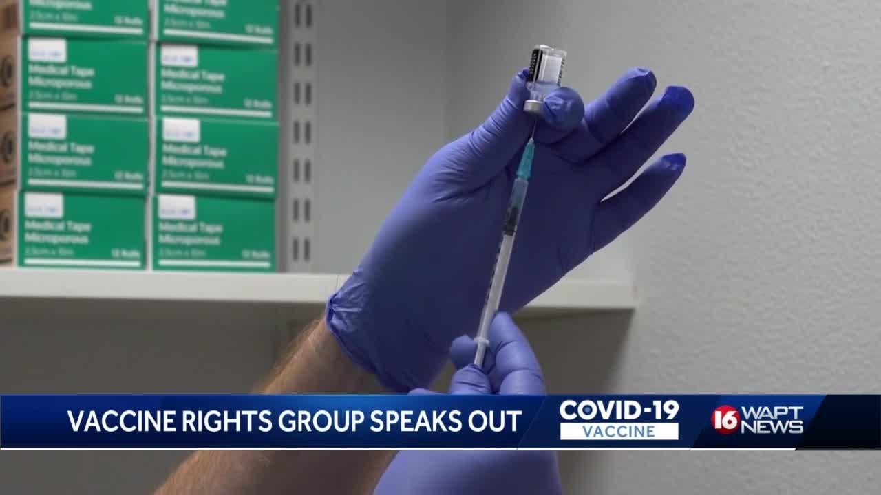 Vaccine Rights Group Speaks OUt