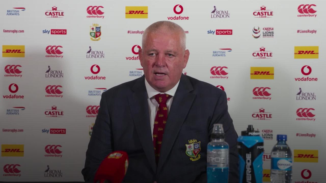 Lions told to prepare for Springbok backlash after victory in series opener