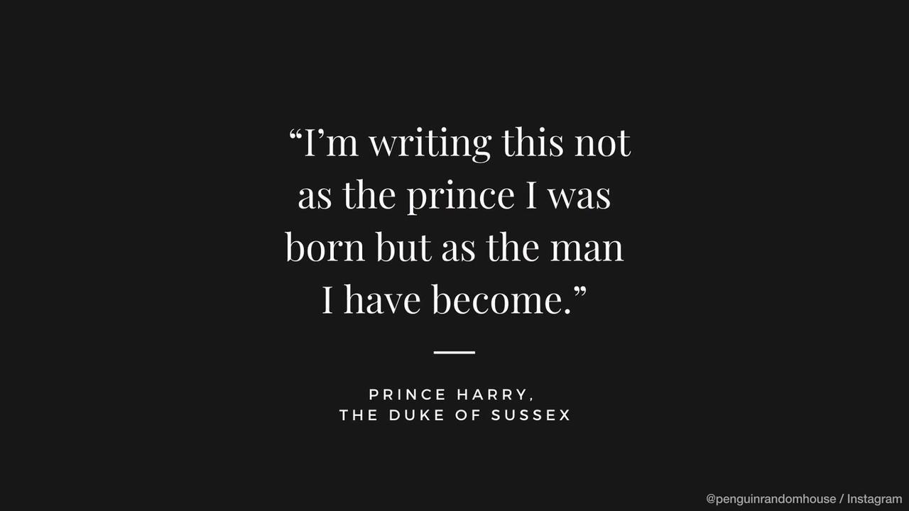 NEWS OF THE WEEK: Prince Harry plots 'wholly truthful' memoir