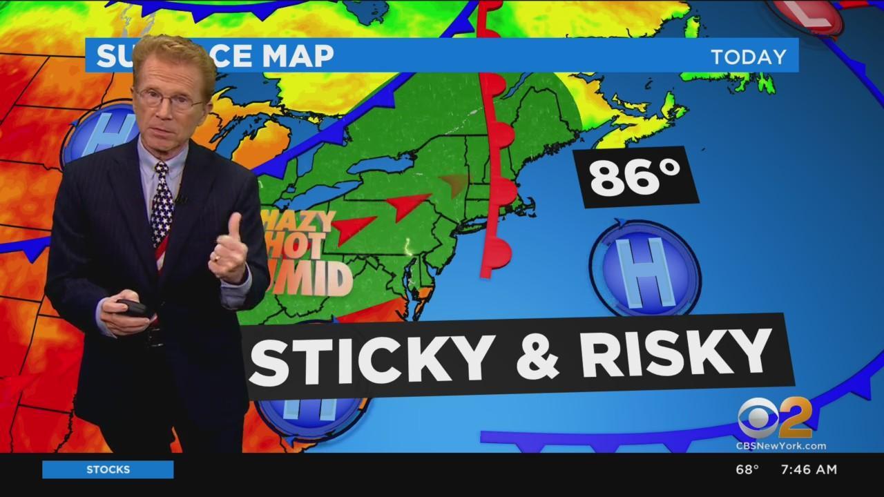 New York Weather: CBS2's 7/25 Sunday Morning Update