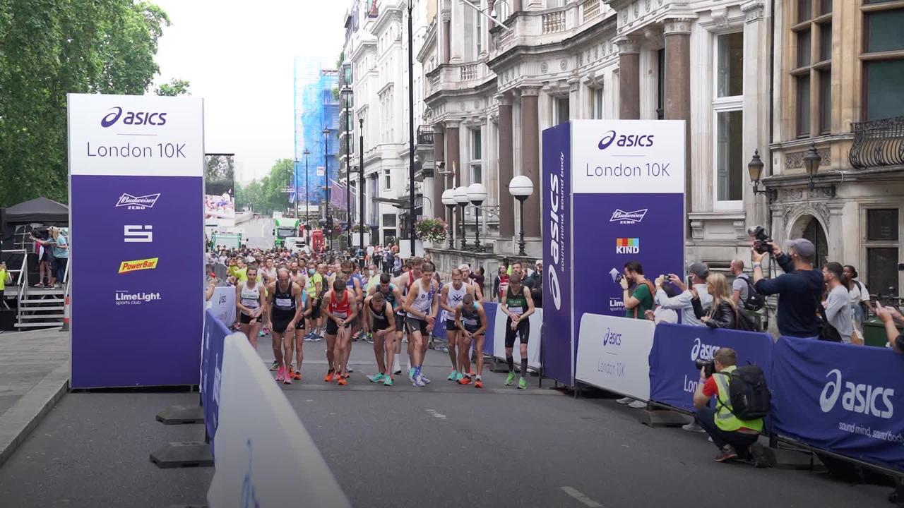 Thousands enjoy first mass London 10k since lockdown