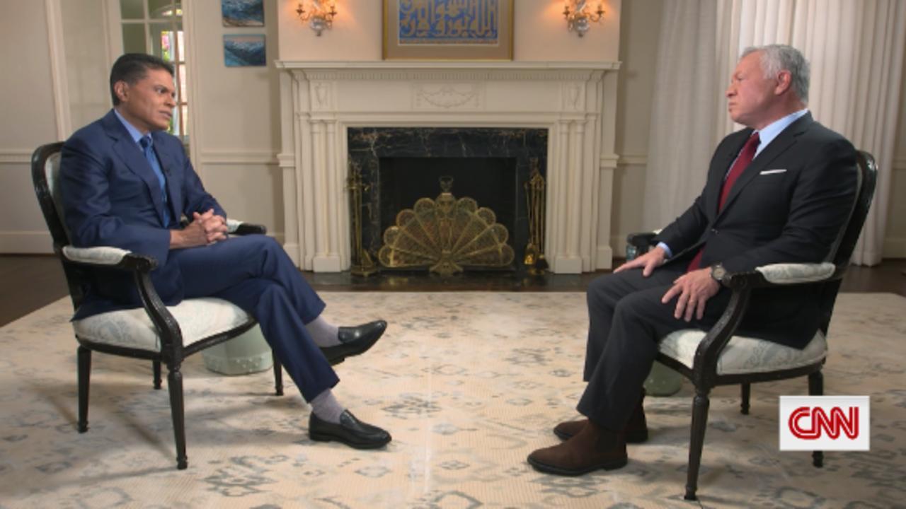 GPS Web Extra: King Abdullah on Afghanistan