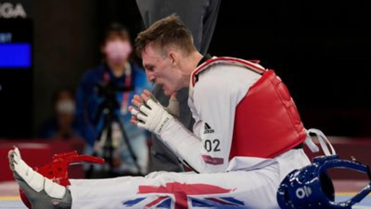 Mixed emotions as Bradly Sinden takes silver