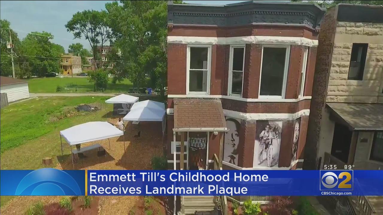 Landmark Plaque Added To Childhood Home Of Emmett Till