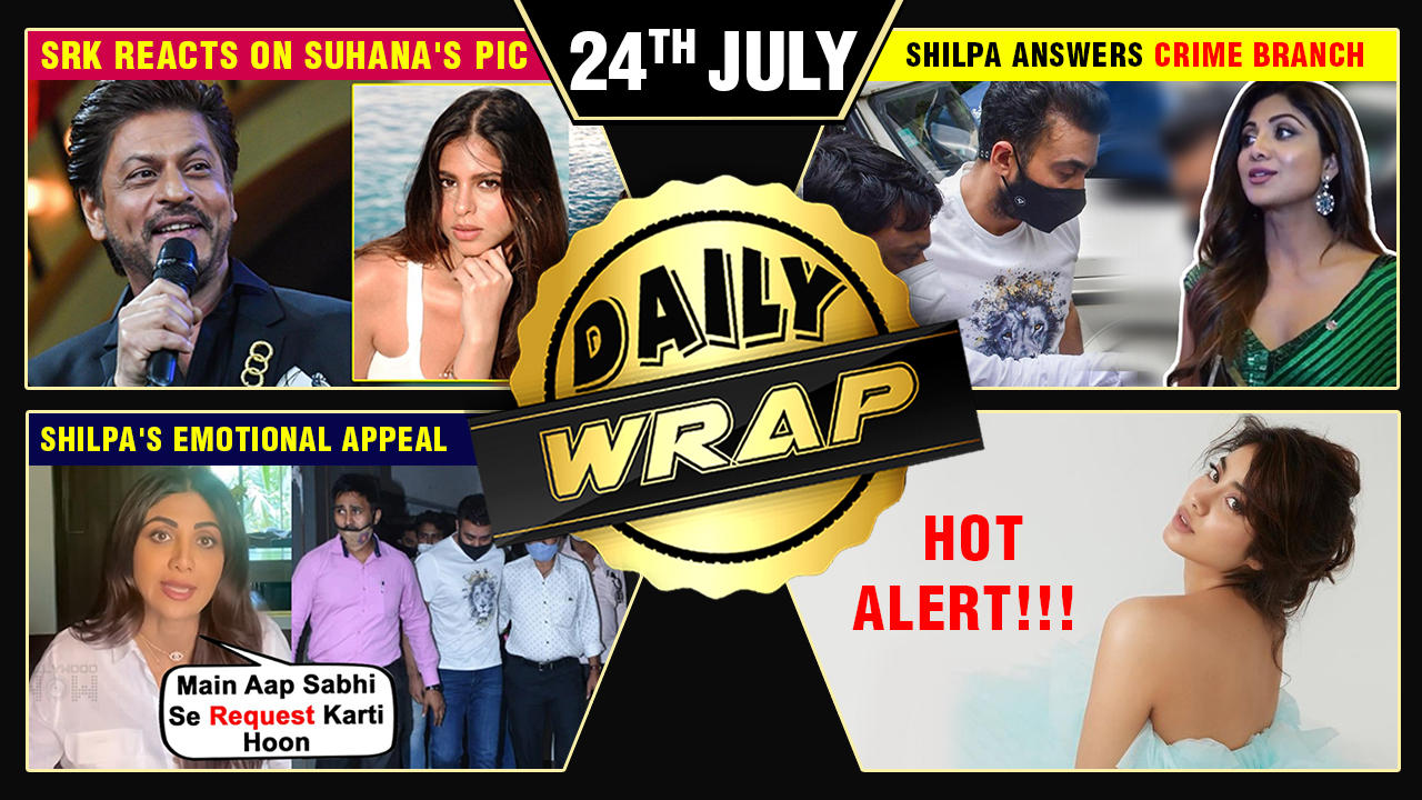 Suhana's Poolside Photos, Shilpa Answers Crime Branch Officers, Karan To Host Bigg Boss Top 10 News