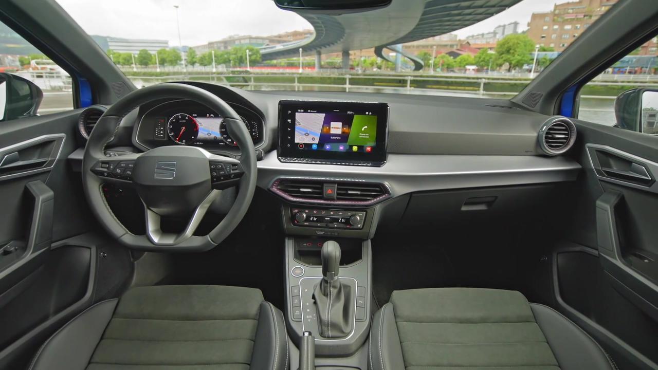 The new SEAT Ibiza XC Interior Design in Saphire Blue