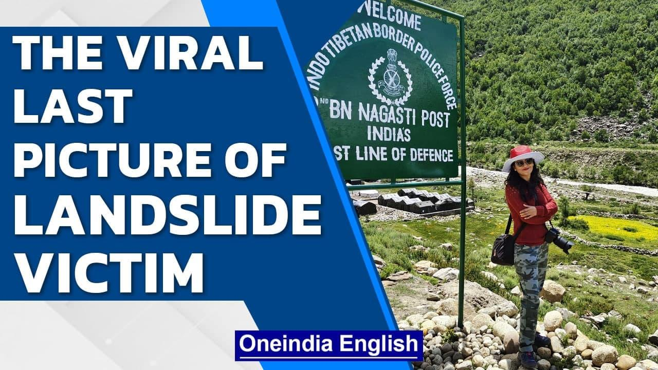 Himachal landslide victim's last picture goes viral | Families mourn deaths | Oneindia News