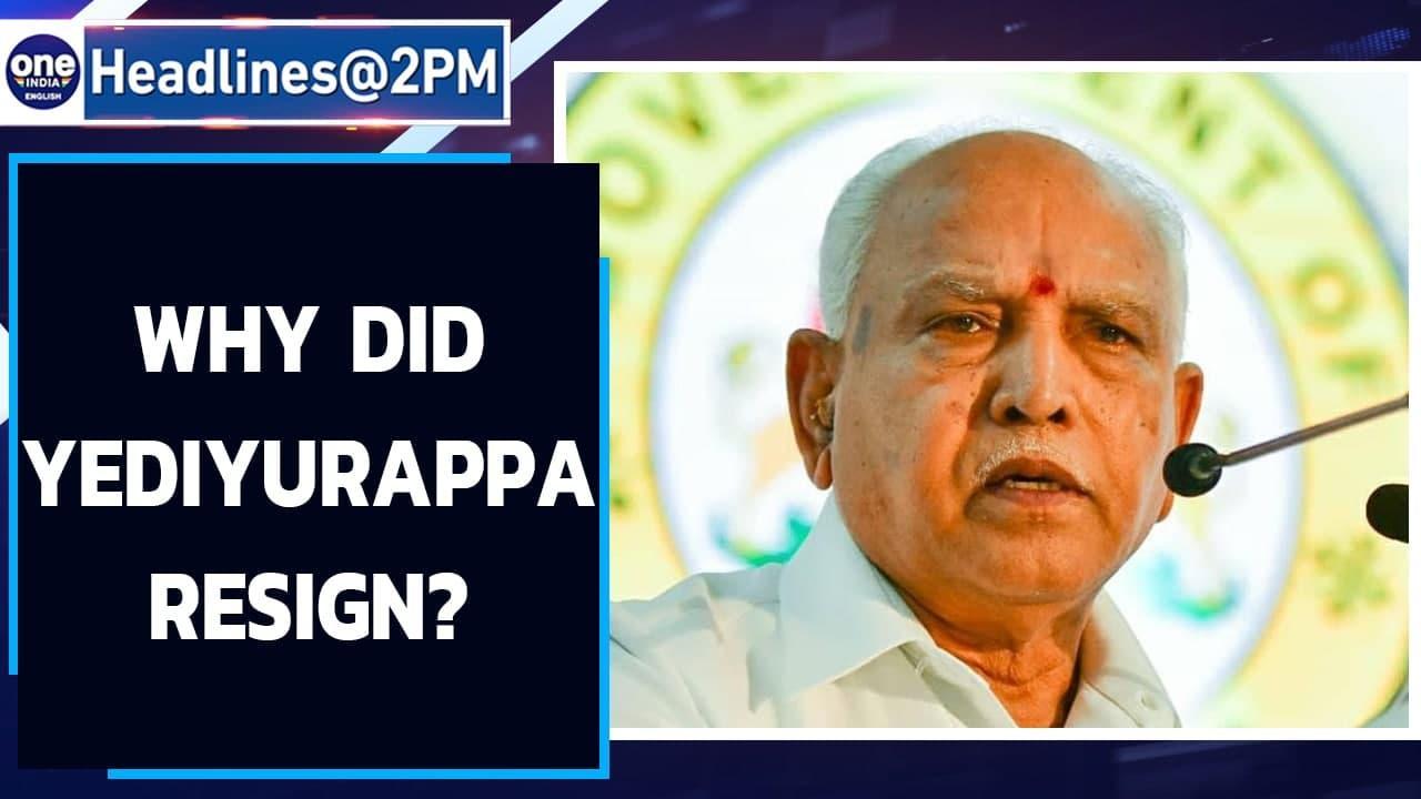 BS Yediyurappa resigns as Karnataka chief minister after weeks of uncertainty| Oneindia News