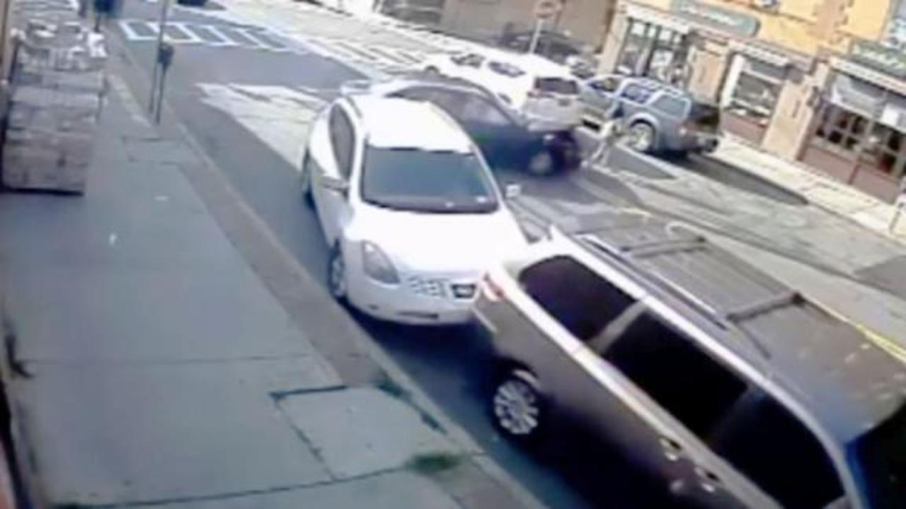 Video shows dramatic rescue of mom, baby trapped under a car