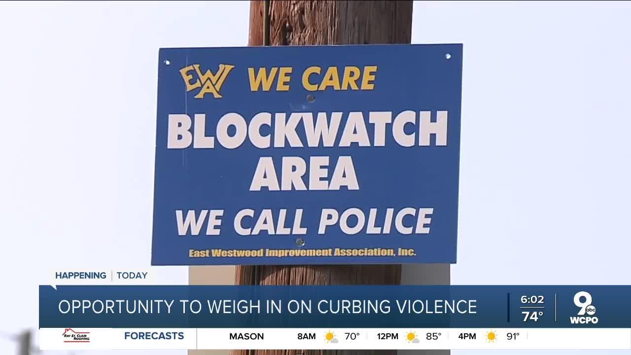 Cincinnati police talk Monday night about efforts to curb violence