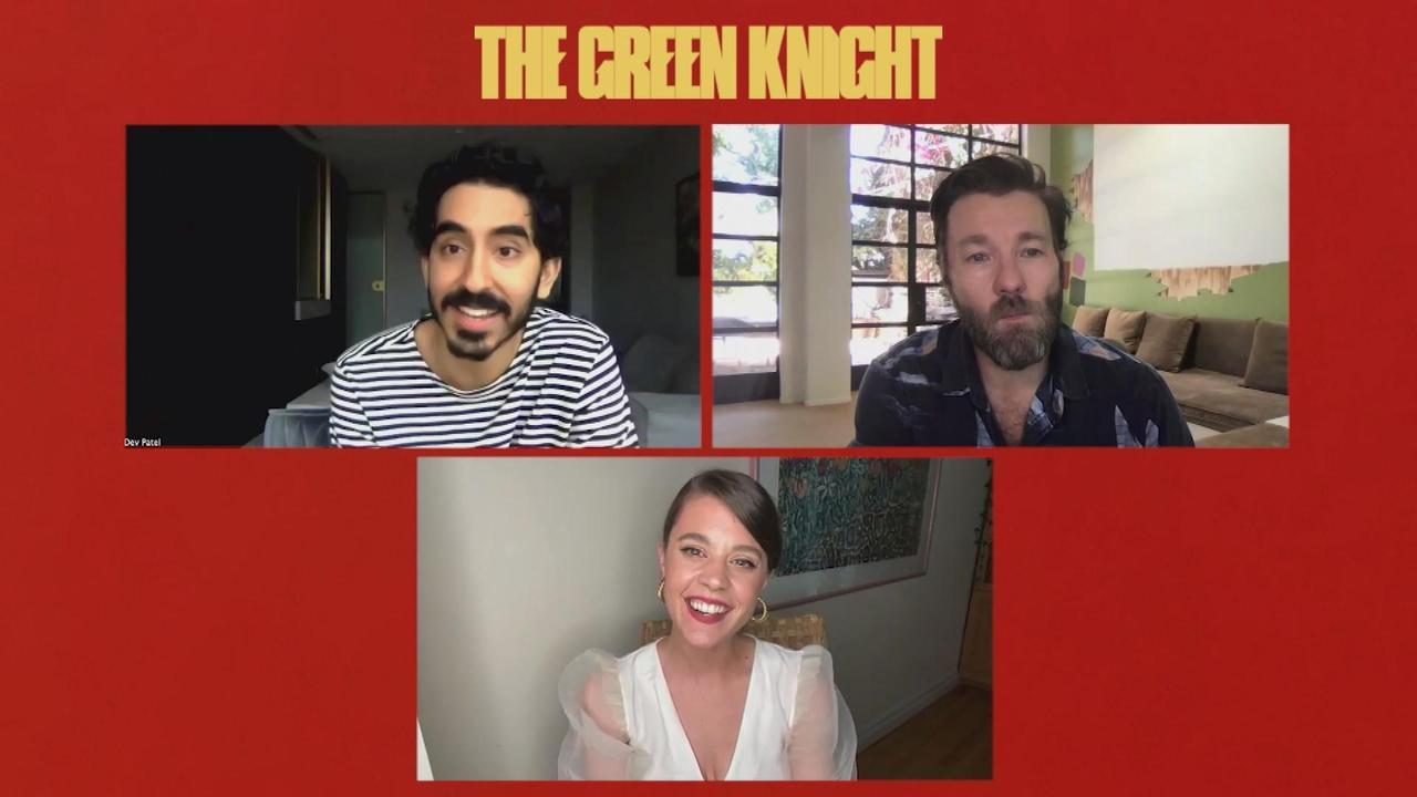 Dev Patel & Joel Edgerton Preview 'The Green Knight'
