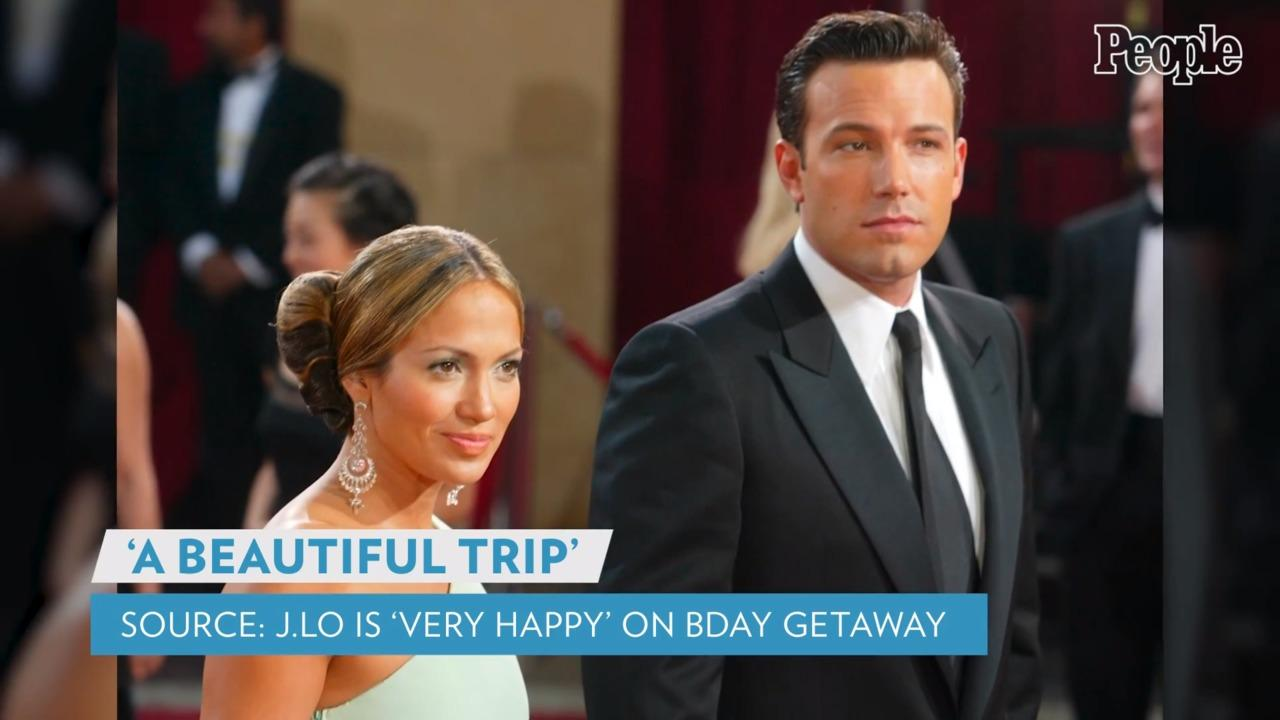 Jennifer Lopez Is 'Very Happy' with Ben Affleck as They Enjoy Her Birthday Weekend in St. Tropez
