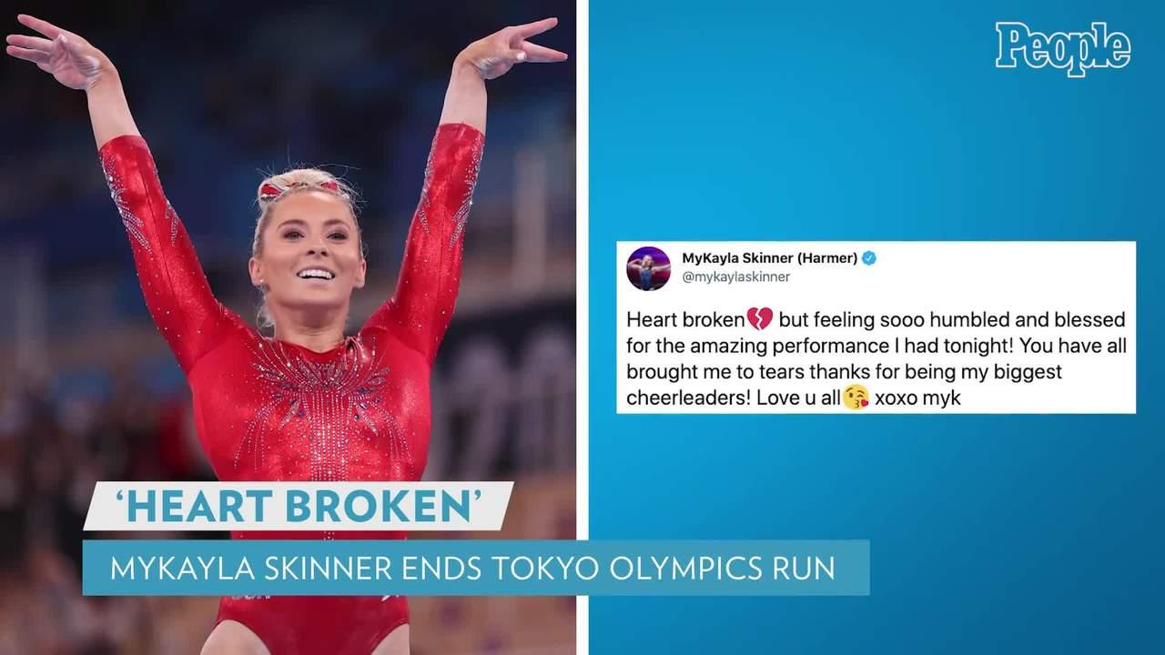 MyKayla Skinner 'Heartbroken' to End Tokyo Olympics Run After Failing to Qualify as Simone Biles Thanks Her