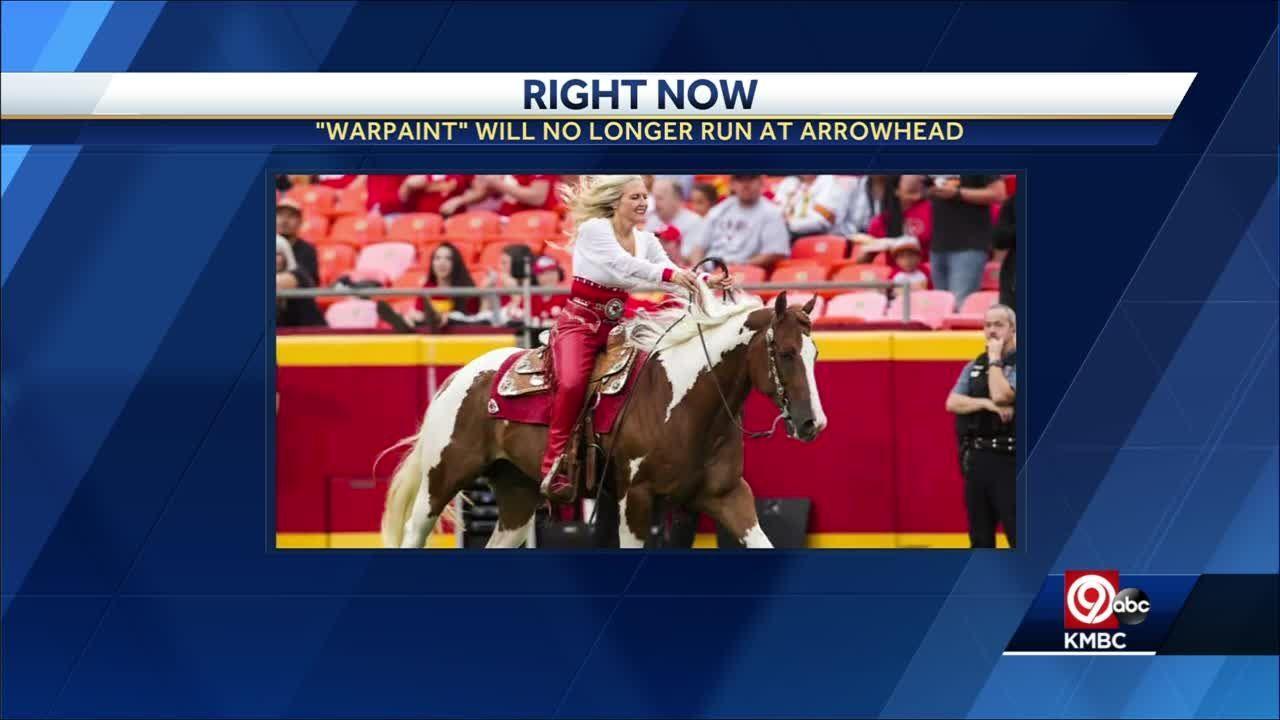'It's time to retire Warpaint:' Kansas City Chiefs mascot will no longer run at Arrowhead Stadium