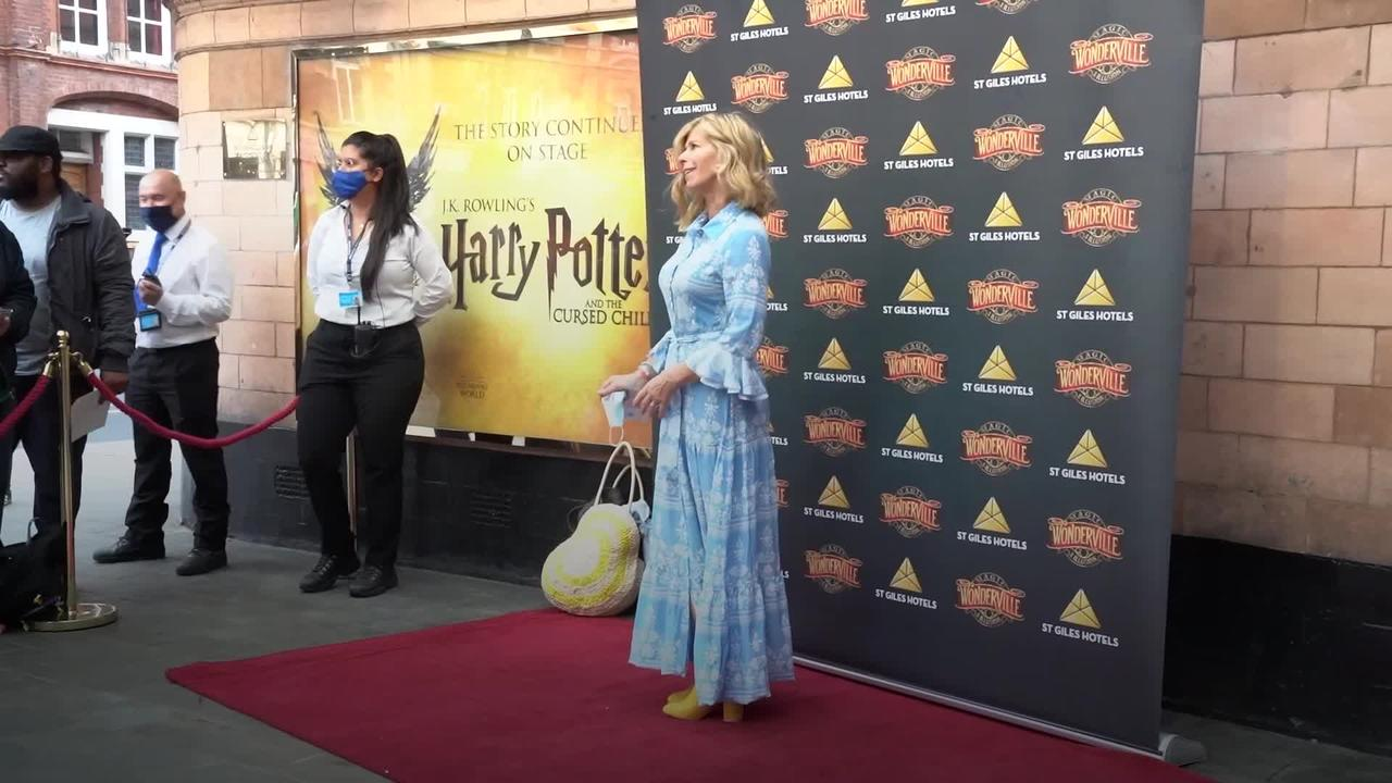 Celebrities hit the red carpet as magic and illusion show Wonderville opens