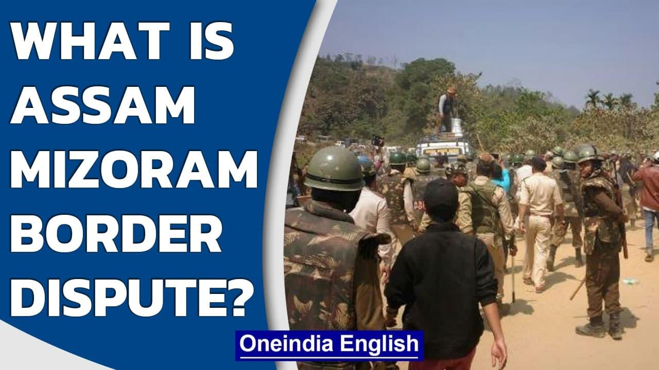 Assam-Mizoram border dispute: Six policemen killed, CRPF deployed | Oneindia News