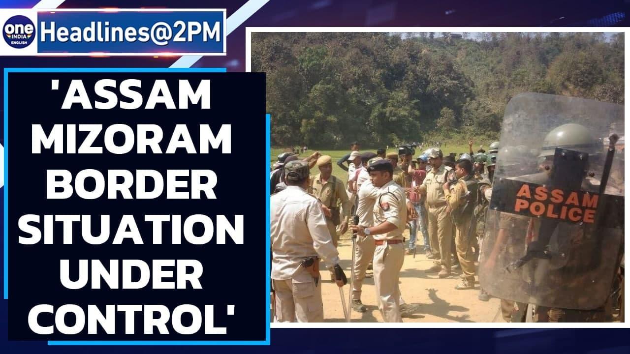 Assam-Mizoram border situation under control, CRPF troops deployed: Centre   Oneindia News