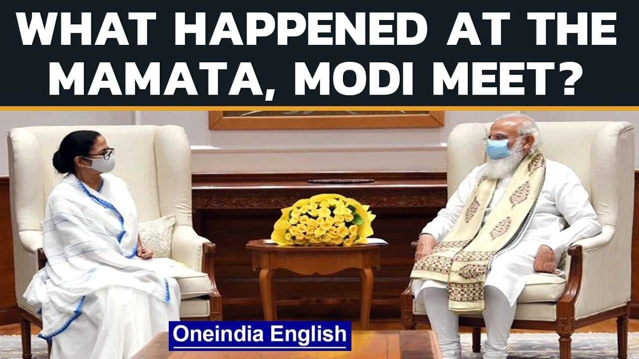 Mamata meets Modi: What did the West Bengal CM raise with the PM?   Oneindia News