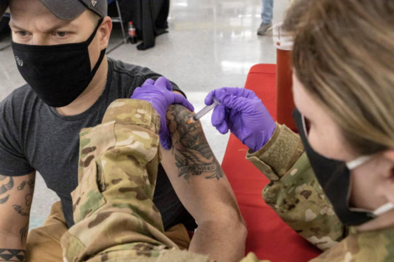 Dept. of Veteran Affairs Becomes 1st Federal Agency To Require Health Worker Vaccinations