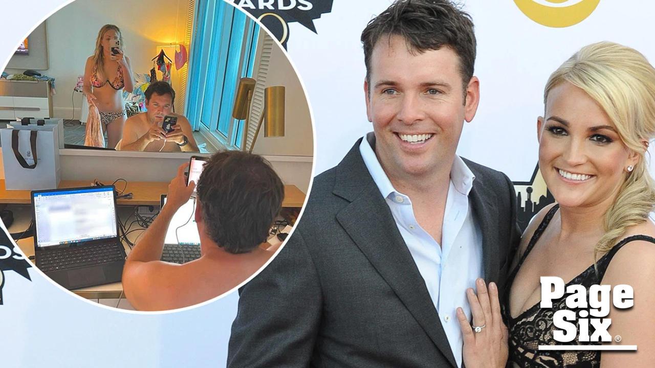 Jamie Lynn Spears' husband caught looking at Britney's Instagram