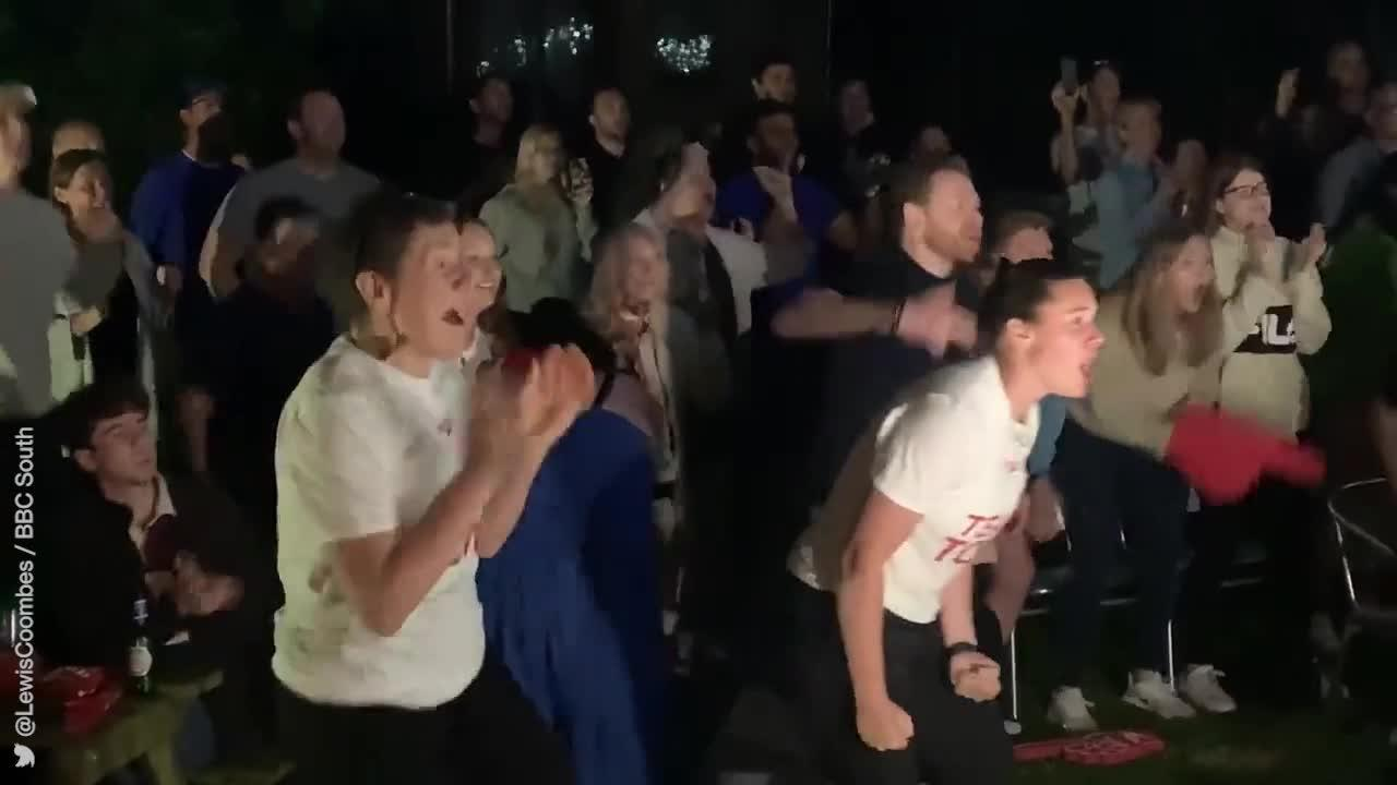 Incredible reaction of Team GB swimmer's family shows what Olympic gold means