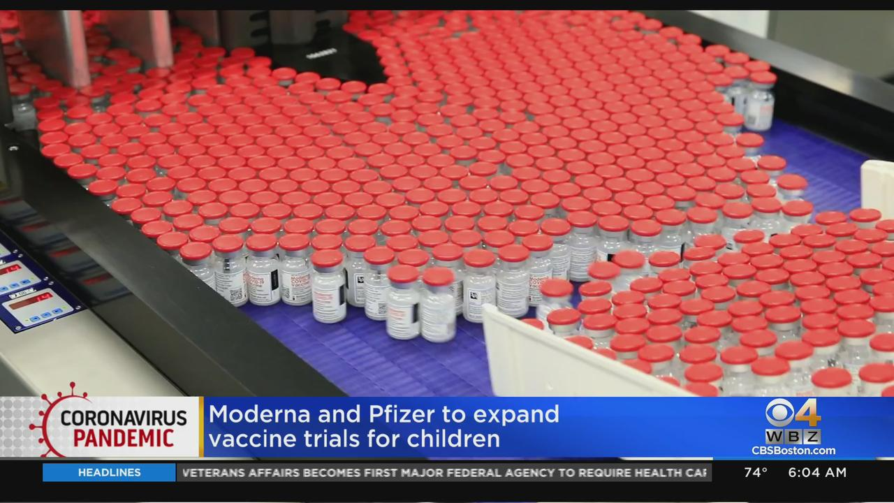 Moderna And Pfizer To Expand COVID Vaccine Trials For Young Children