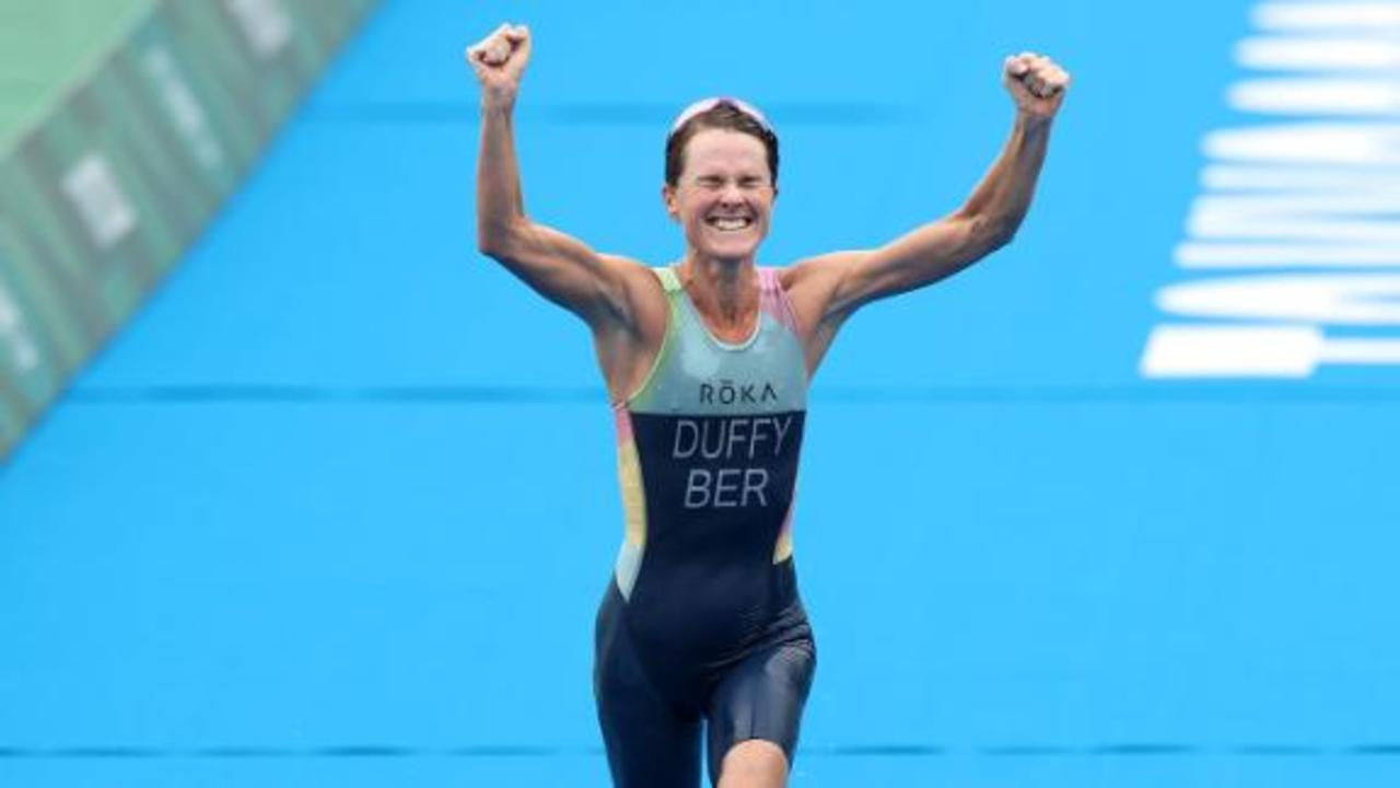 Flora Duffy: Bermuda becomes smallest country to win Olympic gold medal