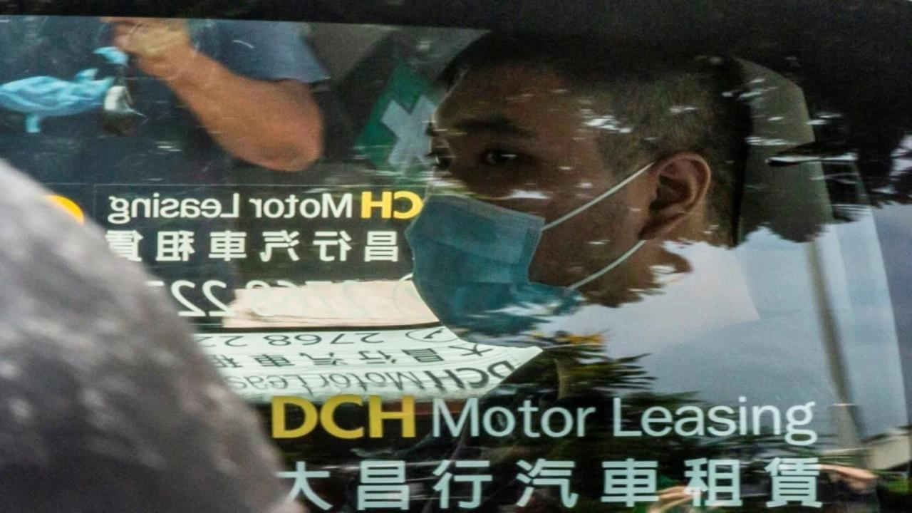 First person charged under Hong Kong security law found guilty