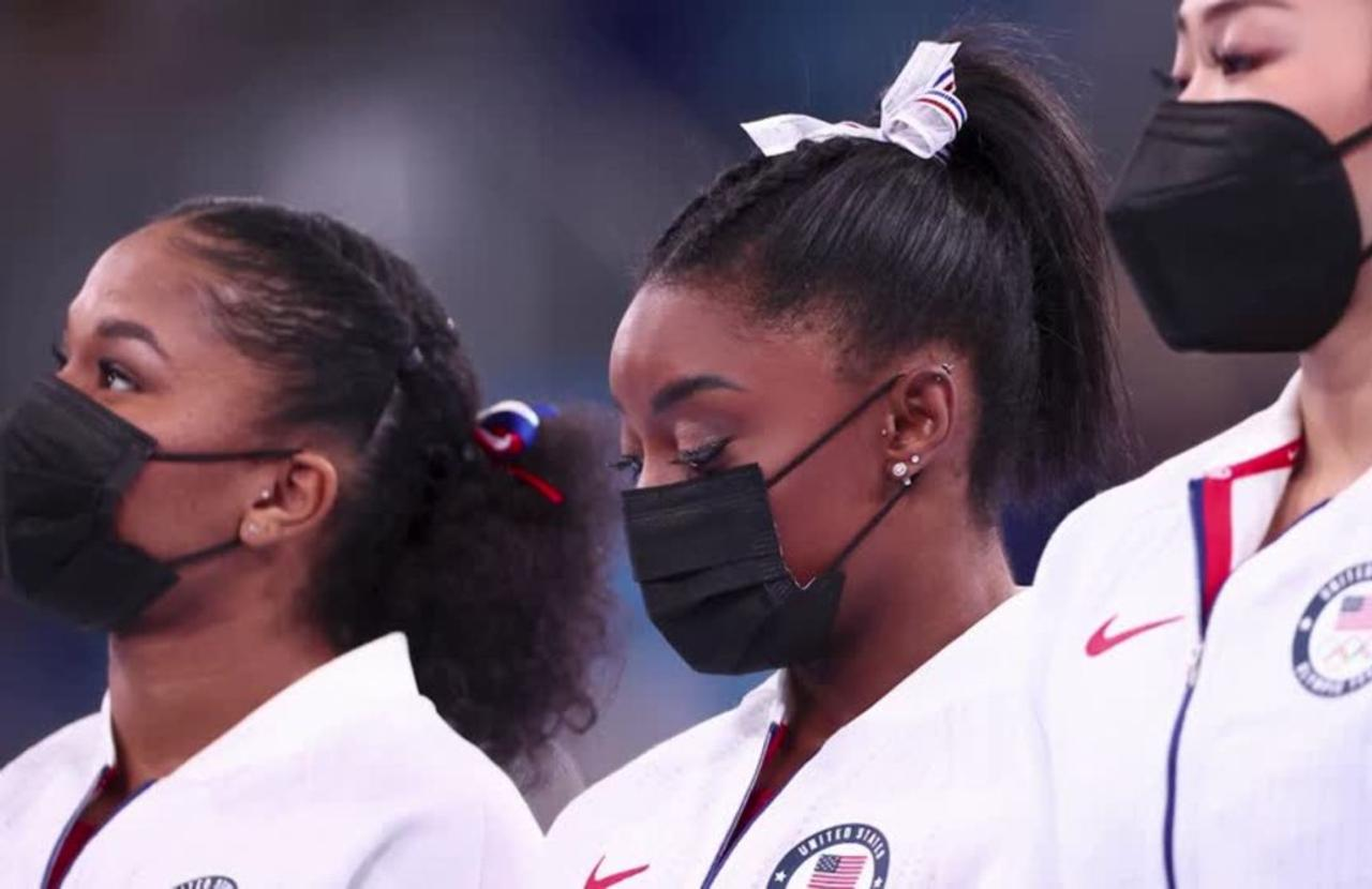 Olympics: Biles ends event, citing mental health
