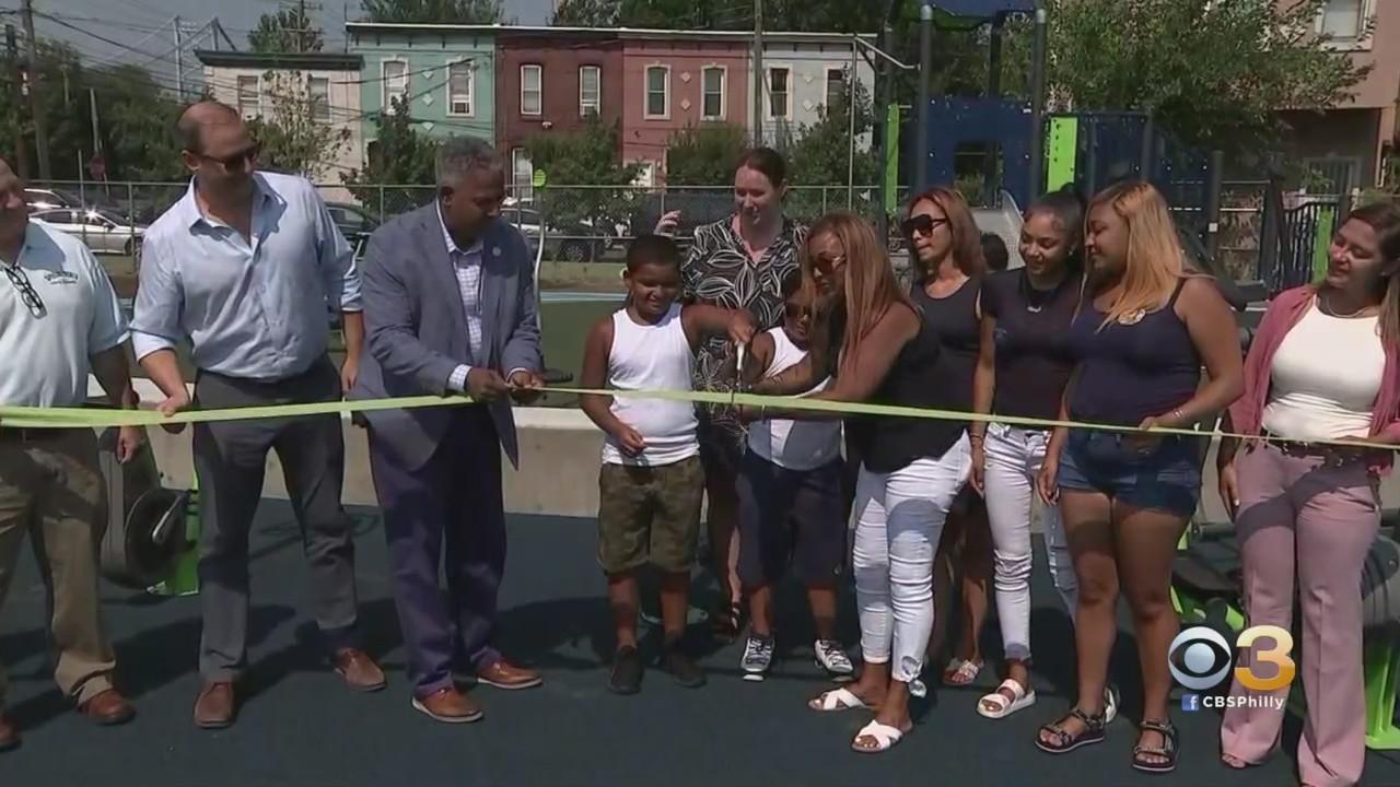 Park Opens In North Camden In Honor Of Dominick Andujar