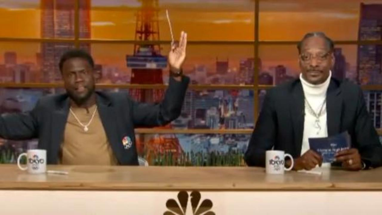 Snoop Dogg, Kevin Hart have ideas for new Olympic sports