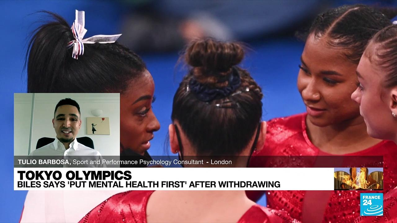 Tokyo Olympics: Biles says 'put mental health first' after withdrawing