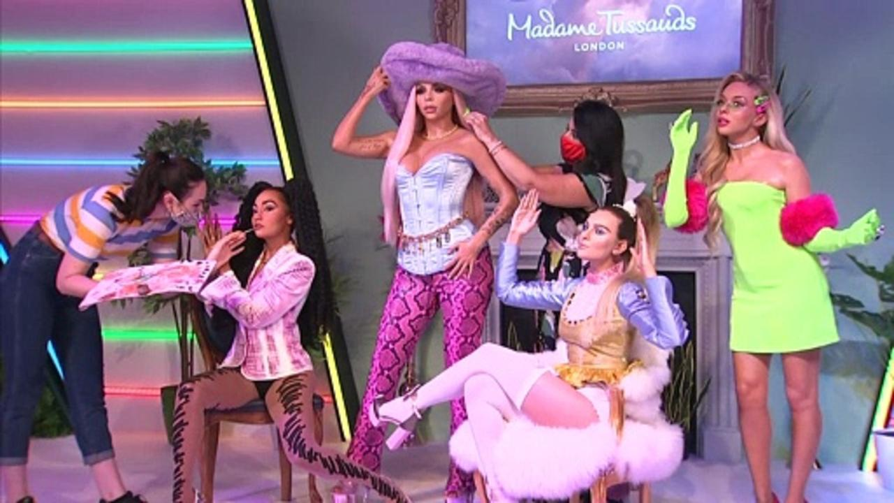 To celebrate 10 years together, Little Mix get the Madame Tussauds wax treatment