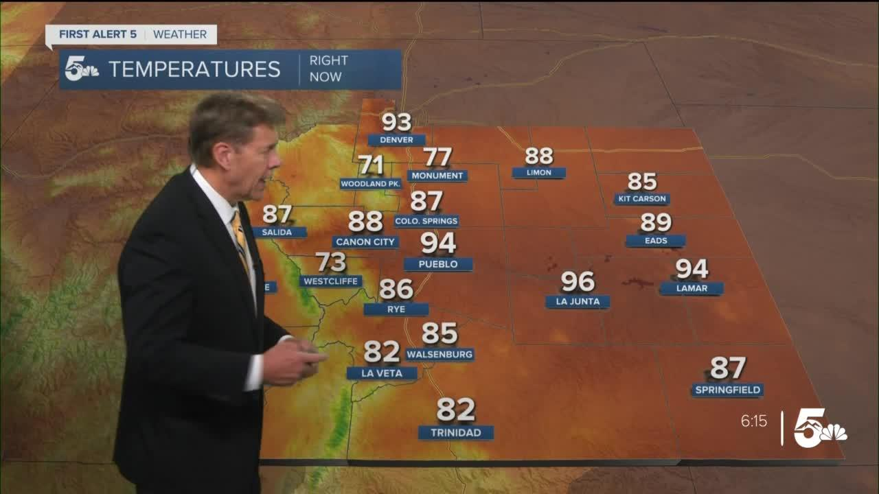 Even warmer on Wednesday, with triple digits for some
