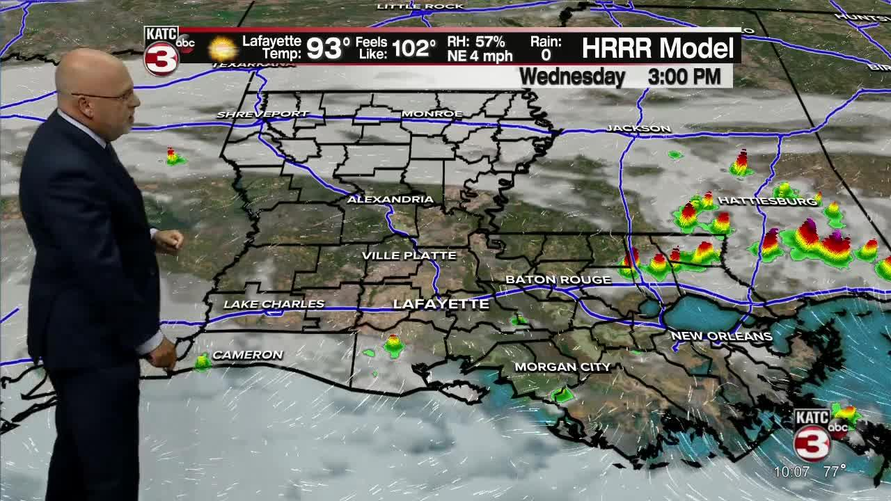 Rob's Weather Forecast Part 1 10P.M. 7/27/21