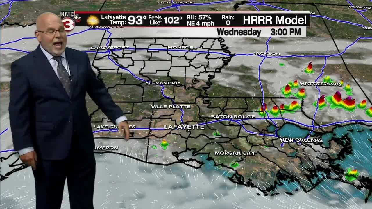 Rob's Weather Forecast Part 2 10P.M. 7/27/21