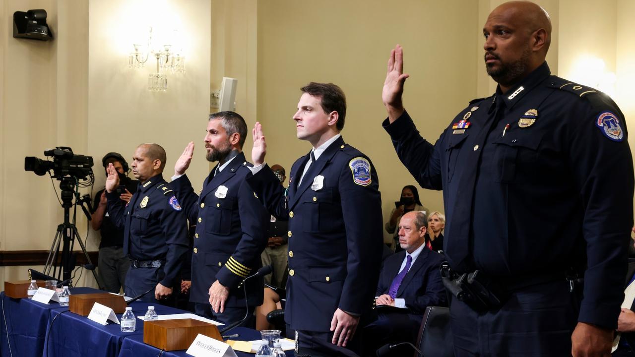 'Grabbed, beaten, tased': Police testify in US Capitol riot probe
