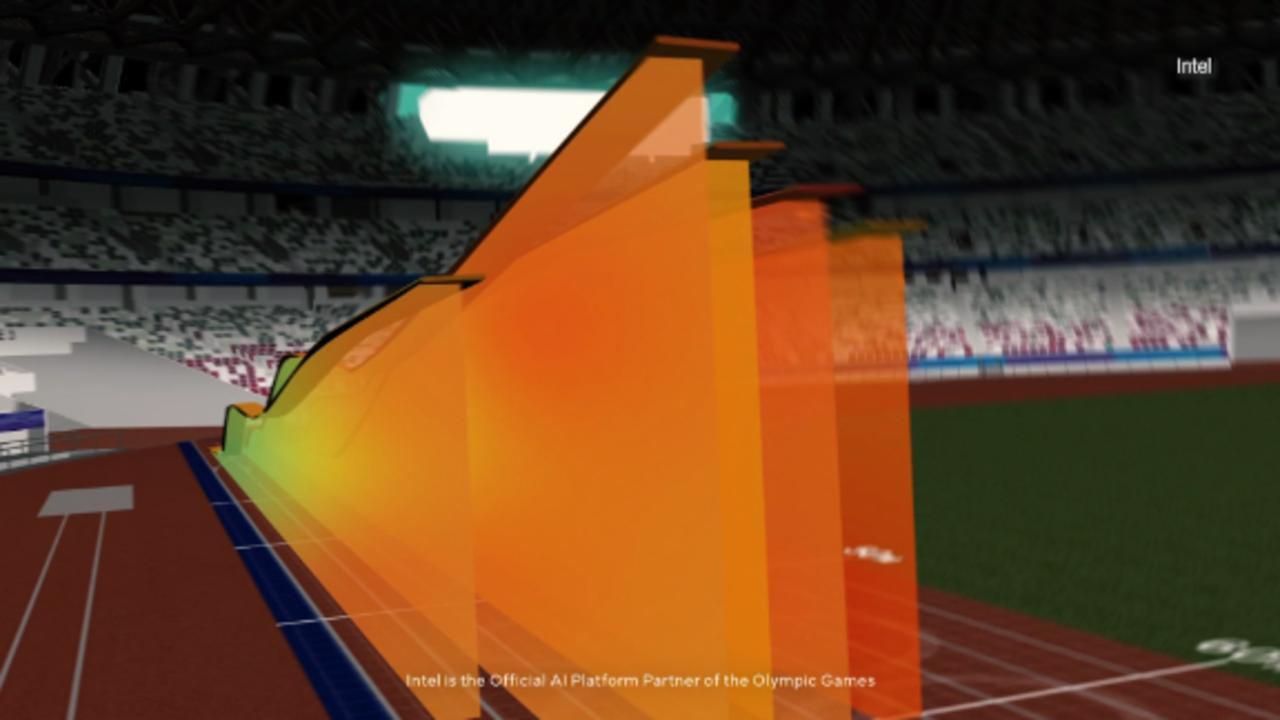 Intel reveals 3D athlete tracking at Olympics