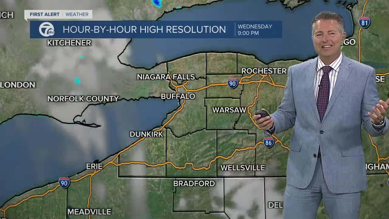 7 First Alert Forecast 5am Update, Wednesday, July 28
