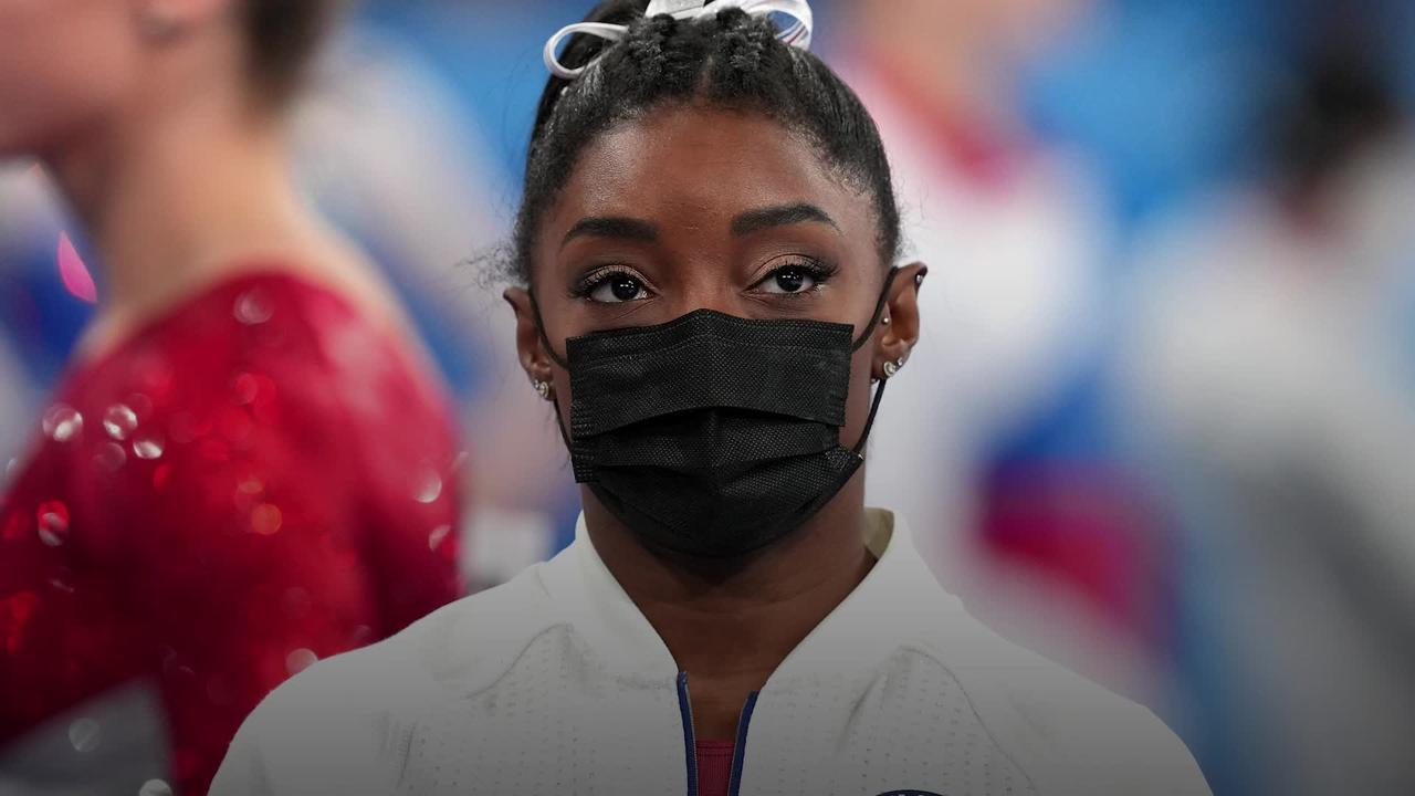 Simone Biles withdraws from women's all-around final at Tokyo Games