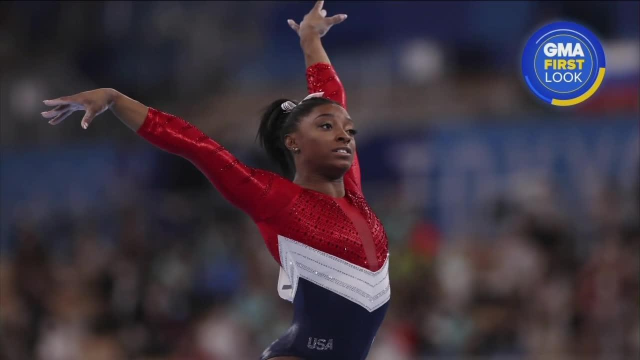 Olympic champ Biles withdraws from all-around competition in Tokyo