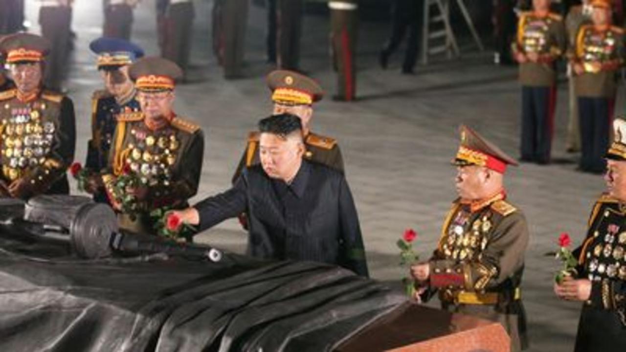 Kim Jong Un marks 68th anniversary of Korean war