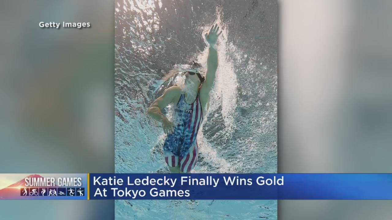 Katie Ledecky Finally Wins Gold At Tokyo Games