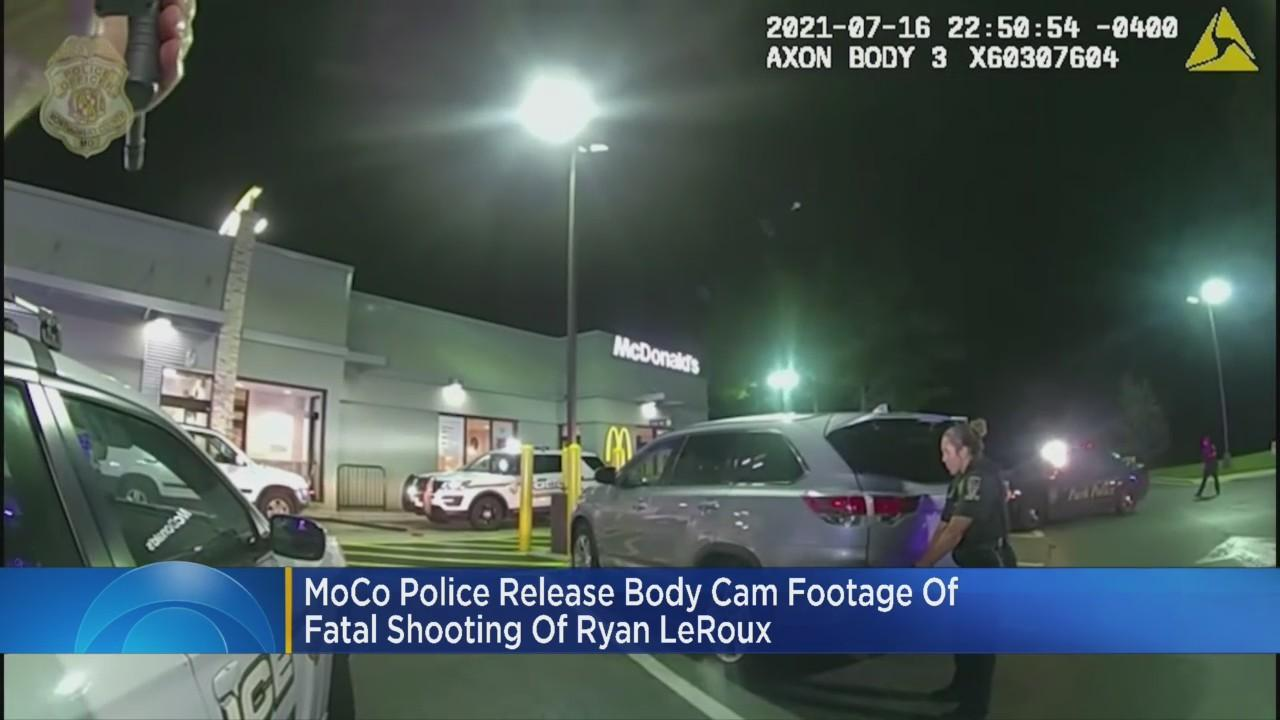 Video Shows Ryan LeRoux Moving In Car Before Montgomery County Police Fatally Shot Him