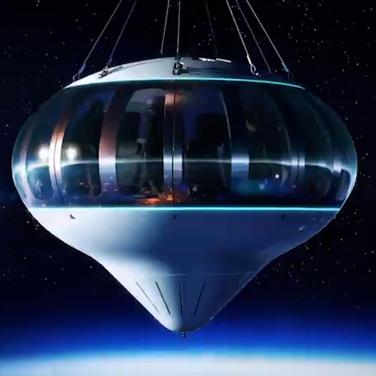 See the world at 100,000 feet